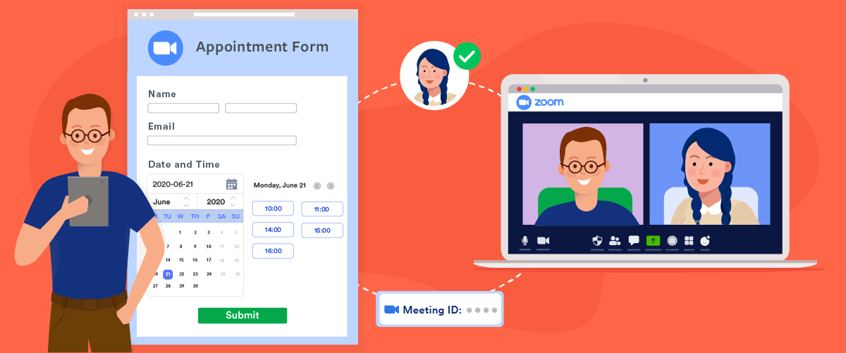 Zoom appointments with JotForm