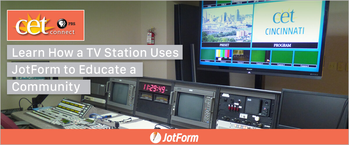 October Newsletter - How a TV Station Uses JotForm to Educate a Community