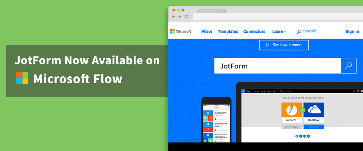 July Newsletter - JotForm Now Available on Microsoft Flow