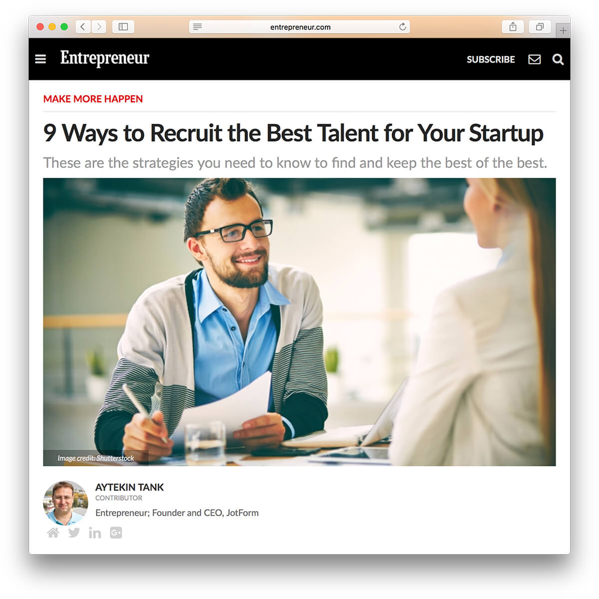 March Newsletter - 9 Ways to Recruit the Best Talent for Your Startup