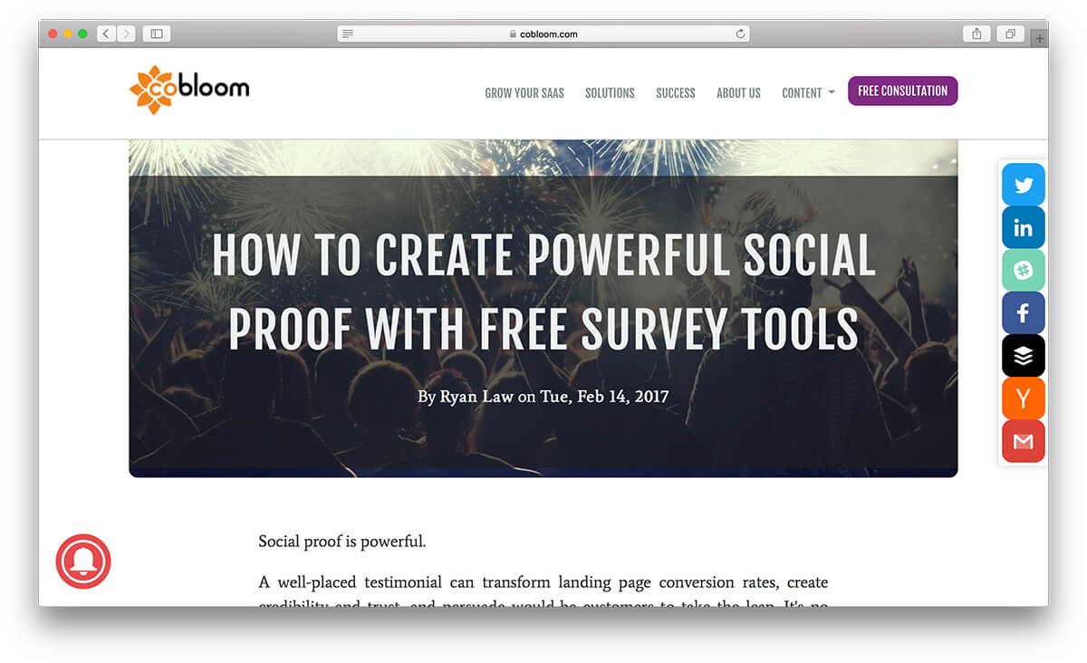 March Newsletter - How to Create Powerful Social Proof with JotForm