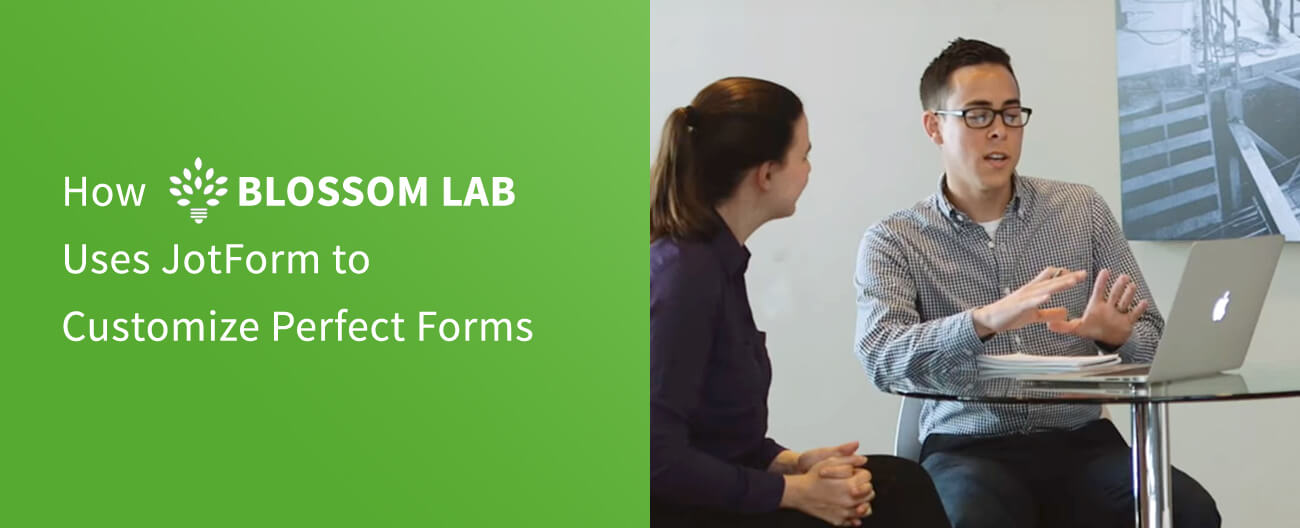 May Newsletter - Case Study: How Blossom Lab Uses JotForm