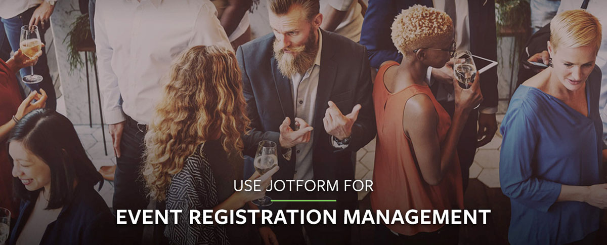 Use JotForm for Event Registration Management
