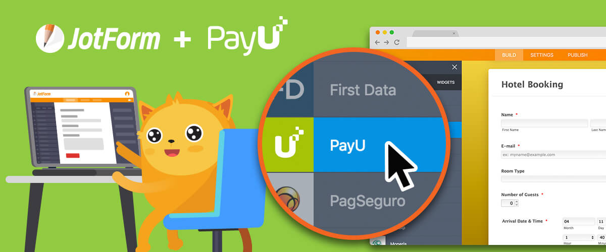 New Integration: Collect PayU Payments Through JotForm