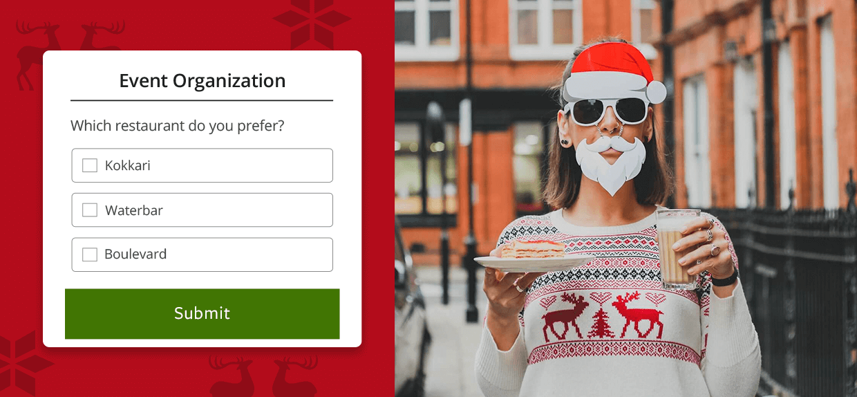Online forms will make you love hosting the holidays