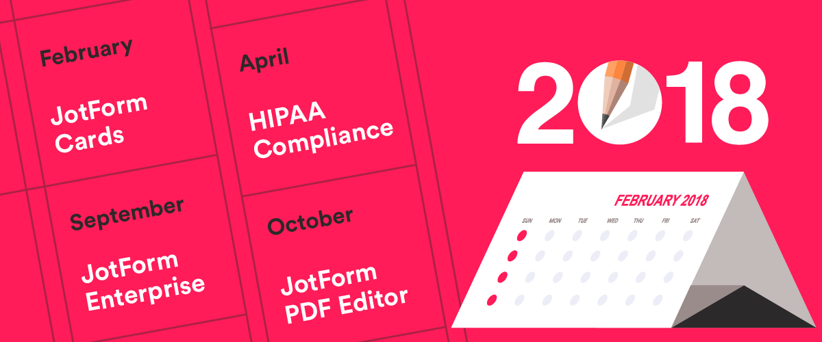 JotForm's year in review
