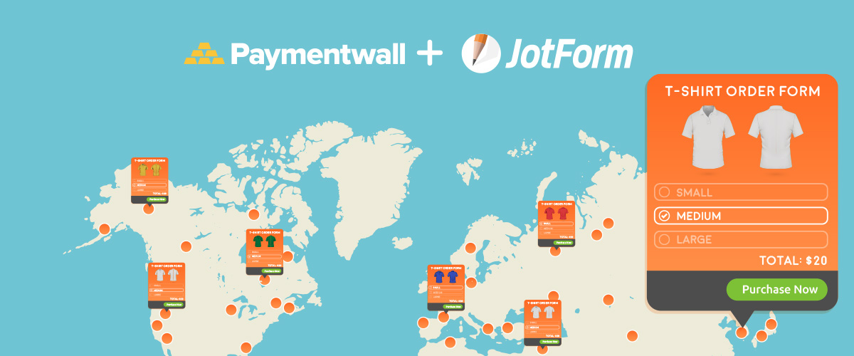 New Integration: Collect Online Payments with Paymentwall and JotForm