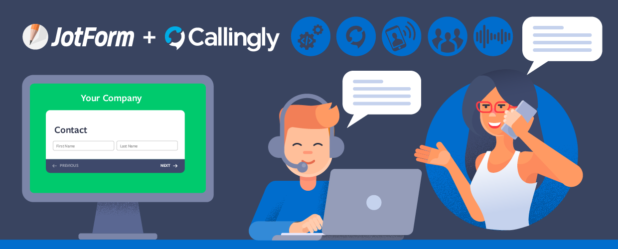 New Integration: Callingly and JotForm Help Convert Leads