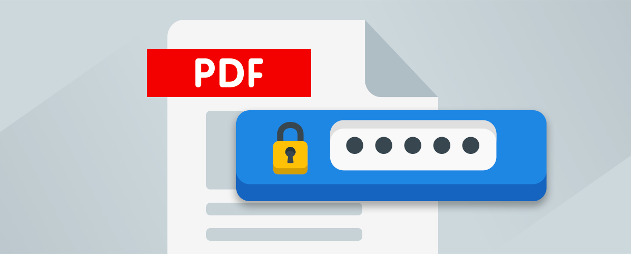 New Feature: Create password protected PDF for submissions