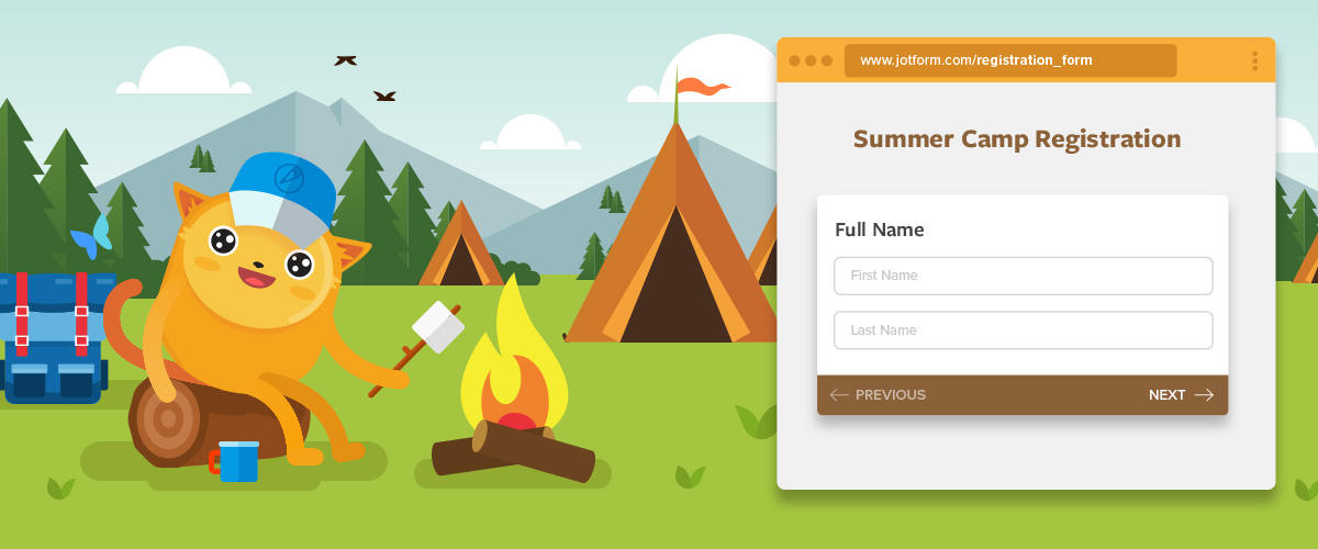 Forms can keep your summer camp running smooth