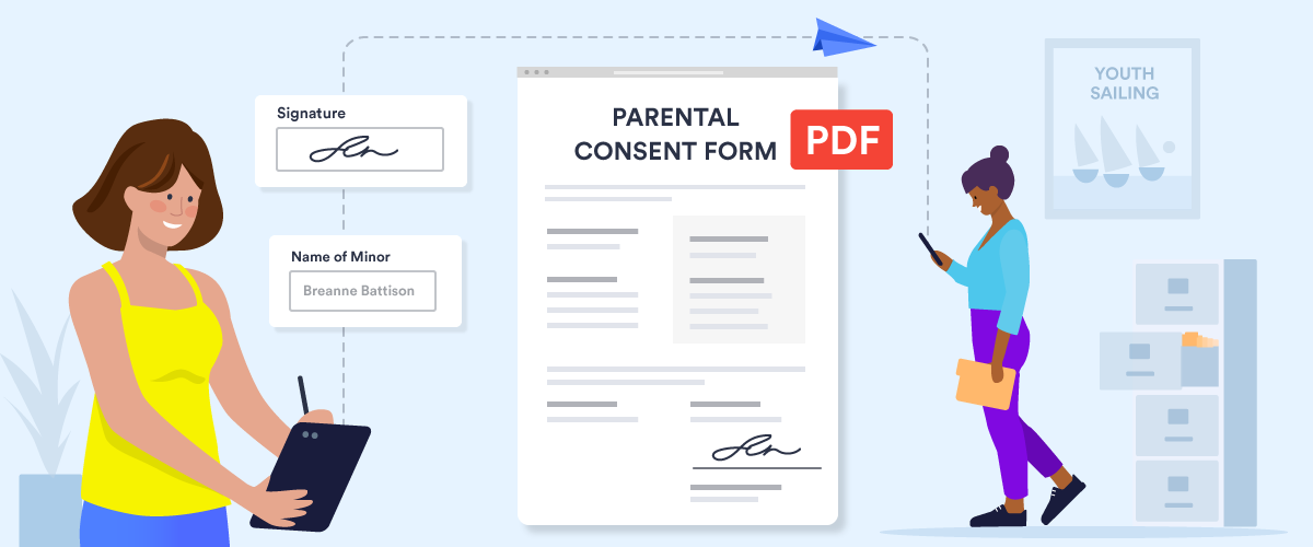 How to collect PDF consent forms online