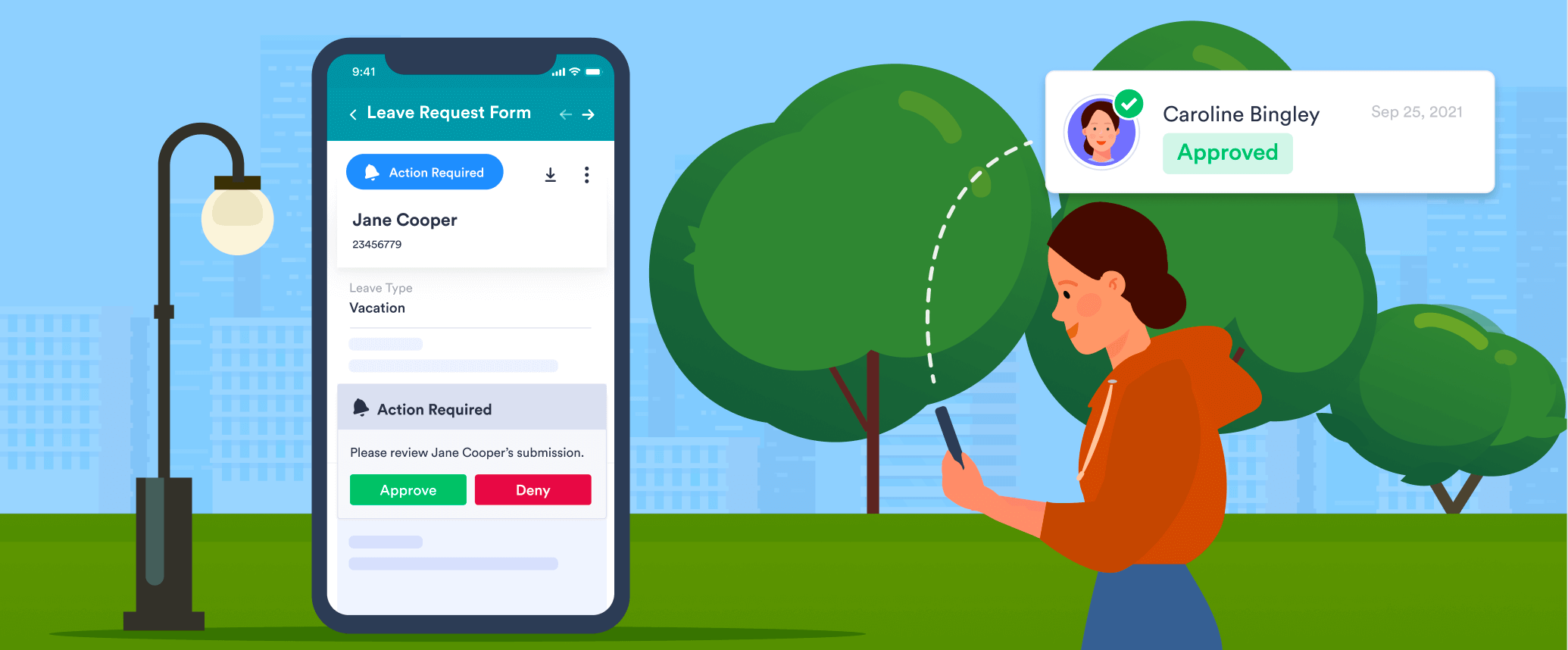 Approve requests on the go with JotForm Mobile Forms