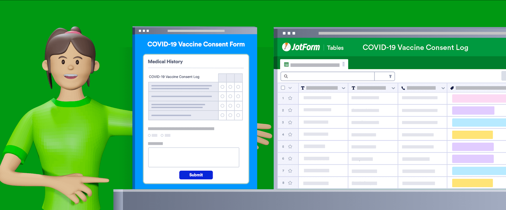 How to organize your vaccine distribution with JotForm