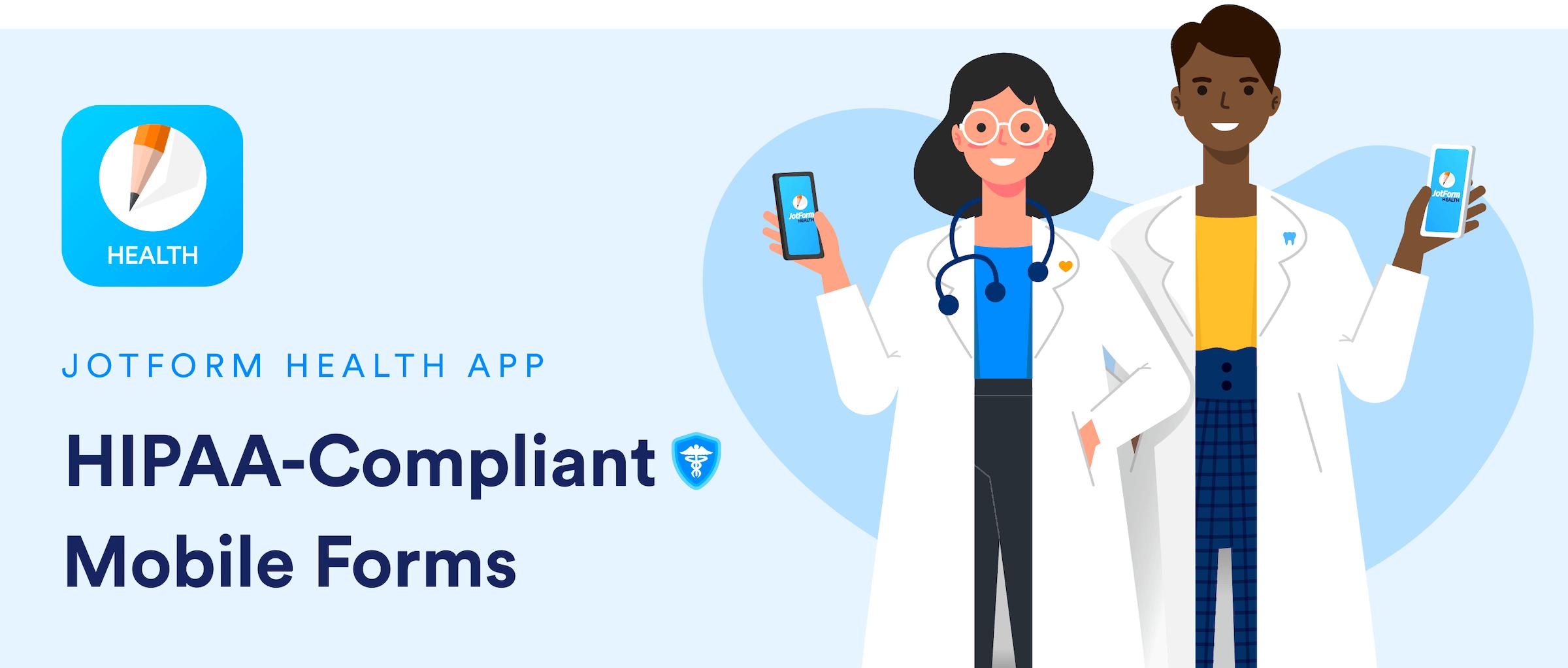 Announcing the new JotForm Health app