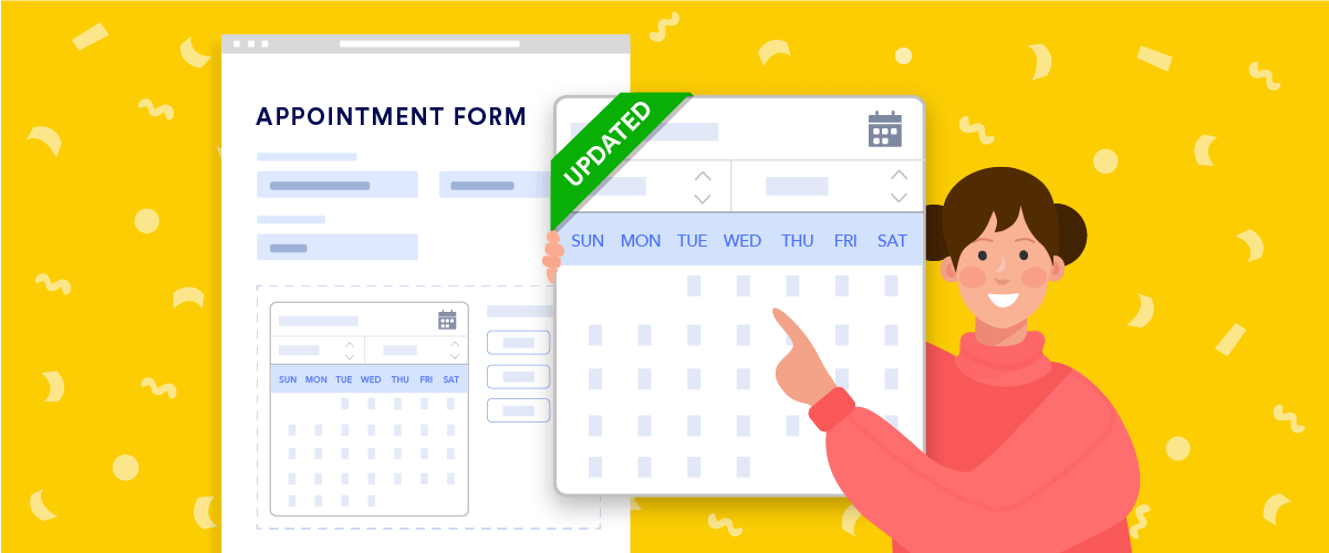 Announcing new appointment field features