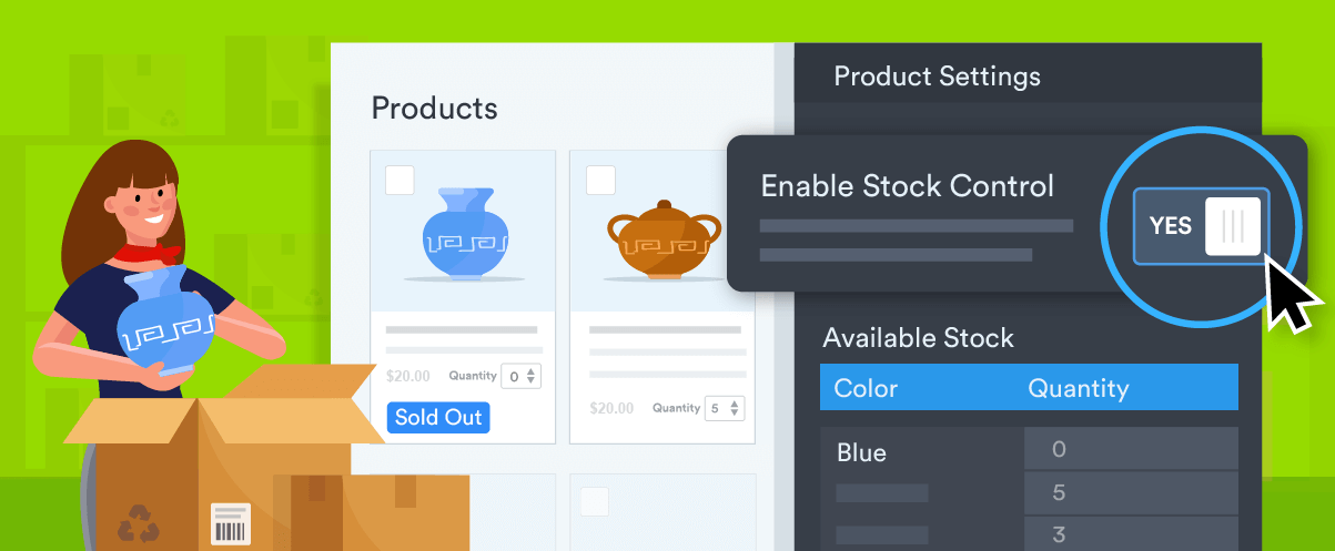 Introducing stock management for order forms