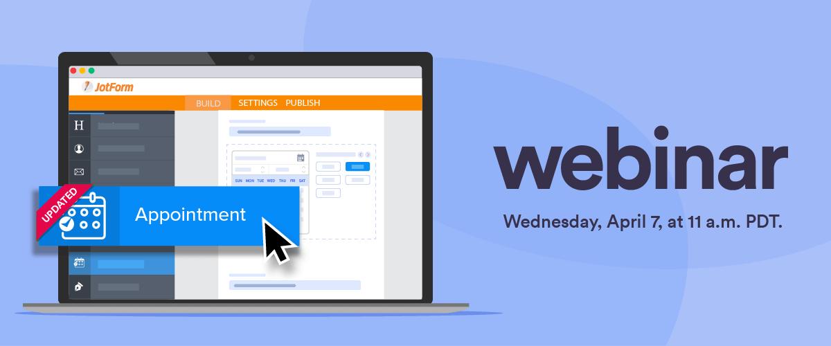 Webinar announcement: Appointment field updates